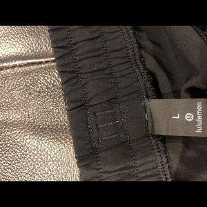 Black lululemon men's shorts
